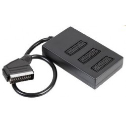 3 way SCART splitter