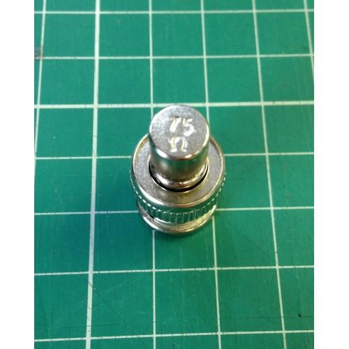 Terminator BNC plug for Sony PVM BVM 75Ω ohm