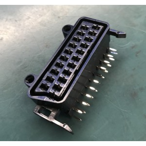Female SCART socket PCB Mount