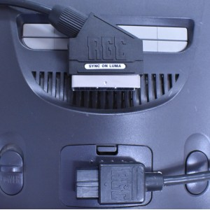N64 composite video and RGB SCART cables
