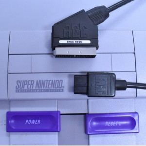 Super Nintendo Famicom SNES RGB SCART cable for NTSC console CSYNC