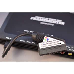 CSYNC EuroSCART to Framemeister XRGB-mini adapter