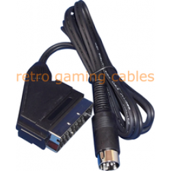Commodore C64 Audio Video AV SCART cable