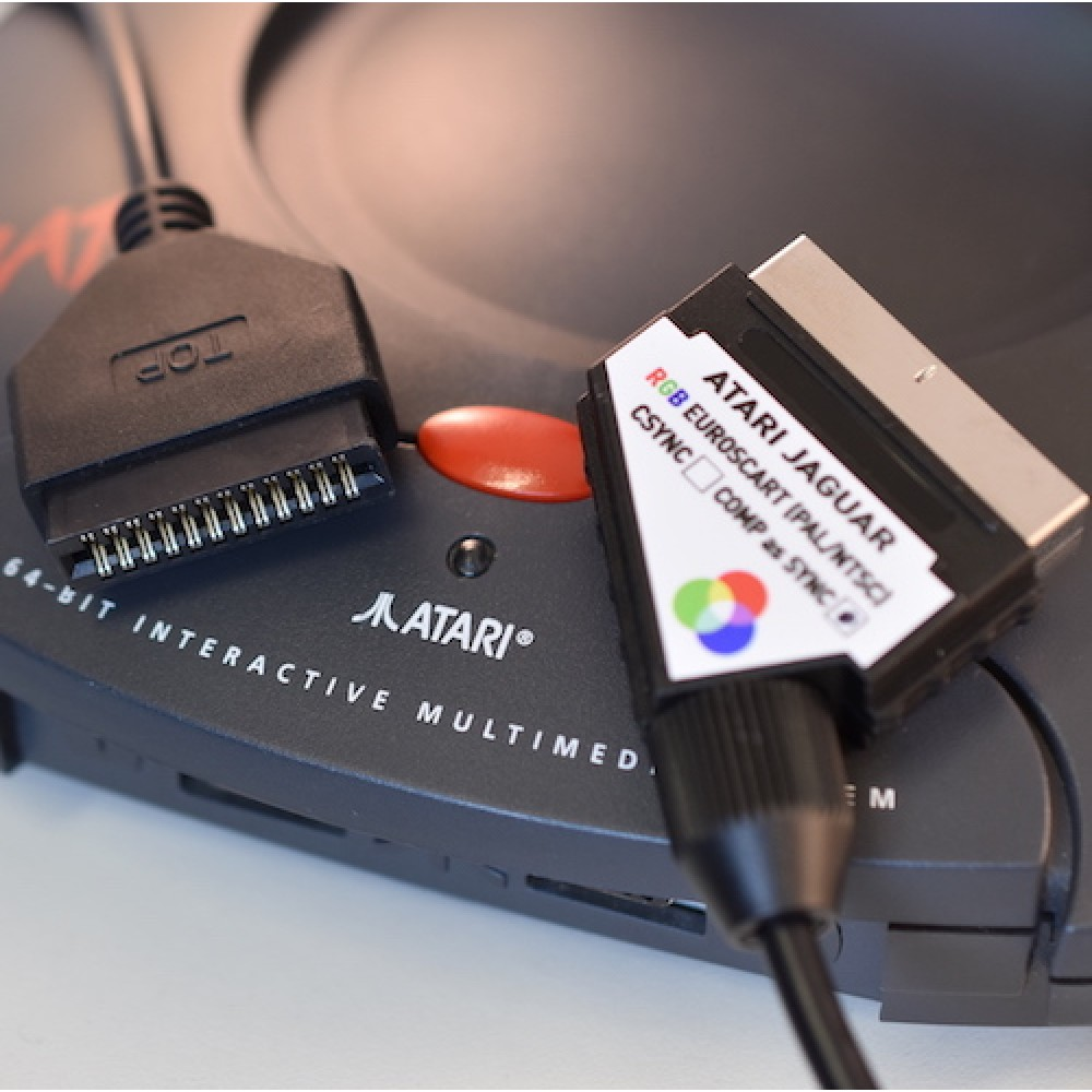 Atari Jaguar RGB SCART cable 240p