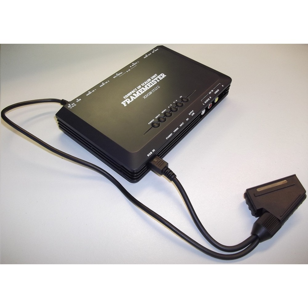 Euroscart To Framemeister Xrgb Mini Adapter Cable Csync