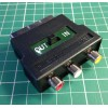RCA/PHONO to SCART adapter for composite video and audio