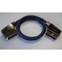 Packapunch Male EuroSCART Plug to Plug Lead